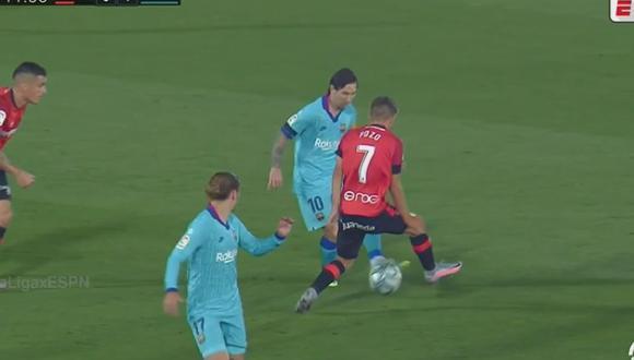 Lionel Messi 'frotó' la lámpara en Barcelona vs Mallorca