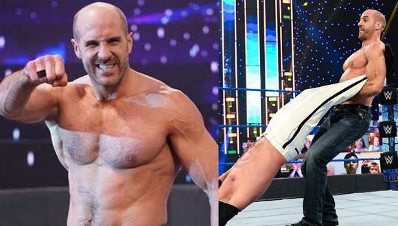 Antonio Cesaro disputará el título Universal ante Roman Reigns. (WWE)