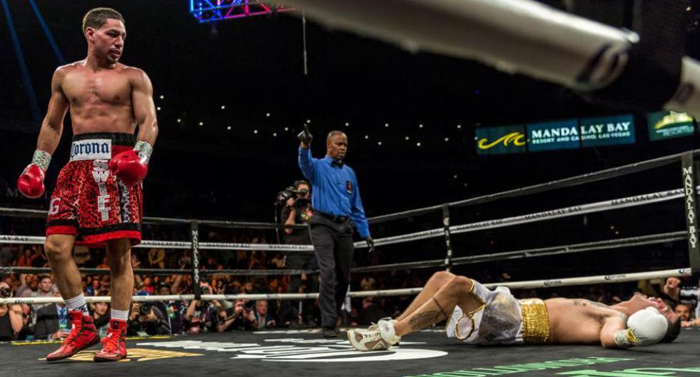 Danny García espera regresar a la cumbre del boxeo. (Agencias /Redes sociales)