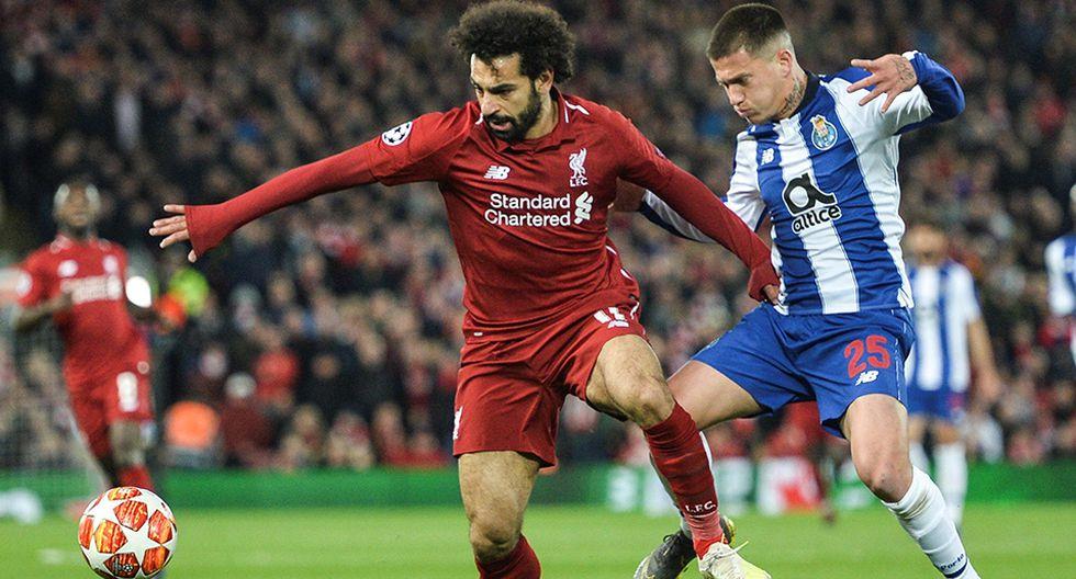 Liverpool sacó ventaja en el choque de ida ante Porto. (Foto: EFE)