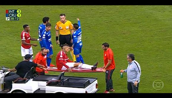 Paolo Guerrero lesionado