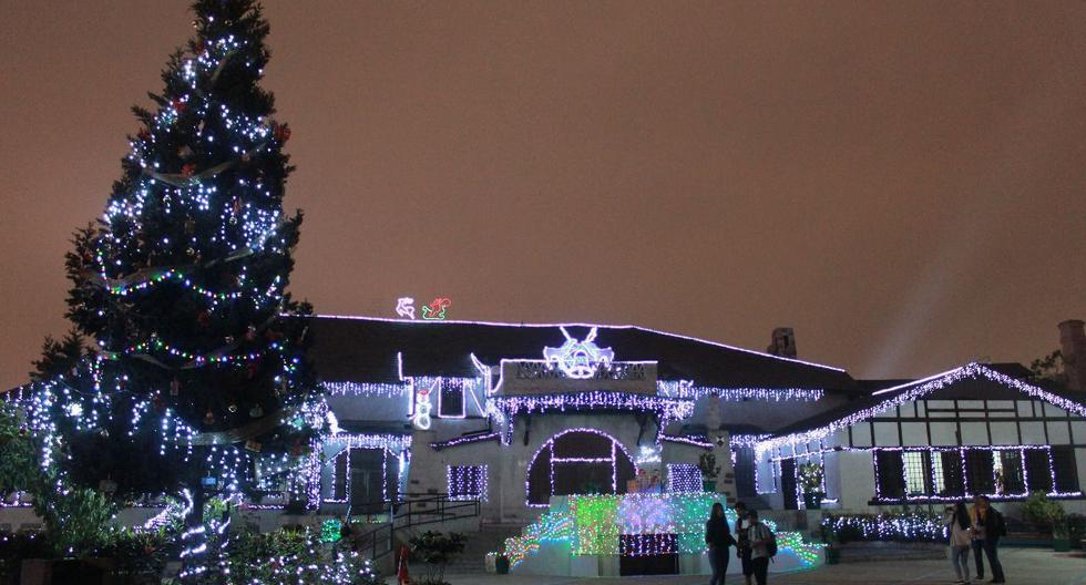En este lugar se podrán apreciar renos, Papá Noeles movibles, hombres de nieves, cascadas y otros personajes de Navidad.