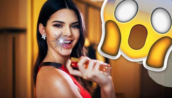 Kendall Jenner se puso un brillante diente de oro.