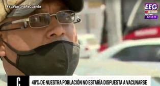 """""""Prefiero ponerme un veneno antes que ponerme la vacuna"""": gente consultada en las calles de Lima no se vacunaría"""