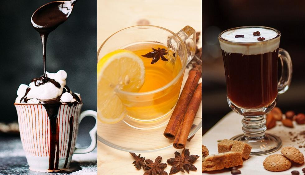 Cócteles calientes para disfrutar en este Invierno. (Fotos: Pixabay)