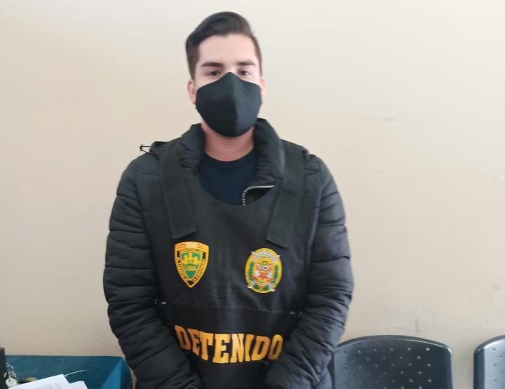 Giancarlo Paolo Sánchez Suarez (25), detenido cuando manejaba la camioneta robada del taxista Gerber Luis Coz Vara (36), confesó que fue él quien descuartizó al trabajador.