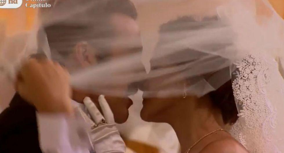 Malena y Pichón al fin se casaron. (Captura)