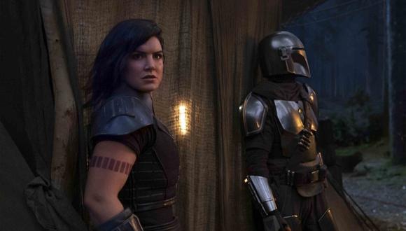 """Gina Carano, despedida de la serie """"The Mandalorian"""" y Star Wars por sus comentarios en redes sociales. (Foto: Disney+)"""