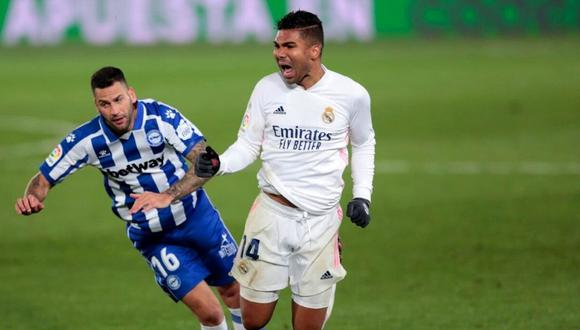 Casemiro afronta como una final duelo ante Borussia (Foto: AP)