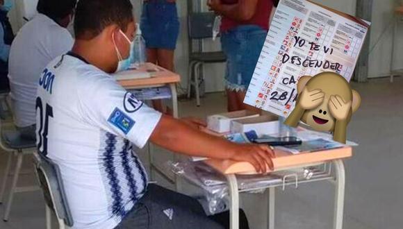 Elecciones generales 2021: Hinchas se juegan broma  (captura twitter)