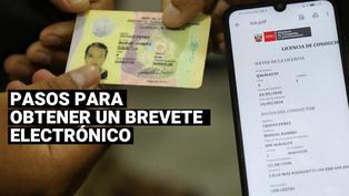 Brevete electrónico: ¿Cúales son los pasos para tramitar la nueva licencia de conducir digital?