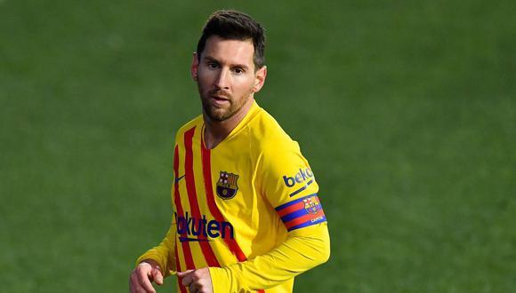 PSG confirma interés por Lionel Messi. (Foto: AFP)