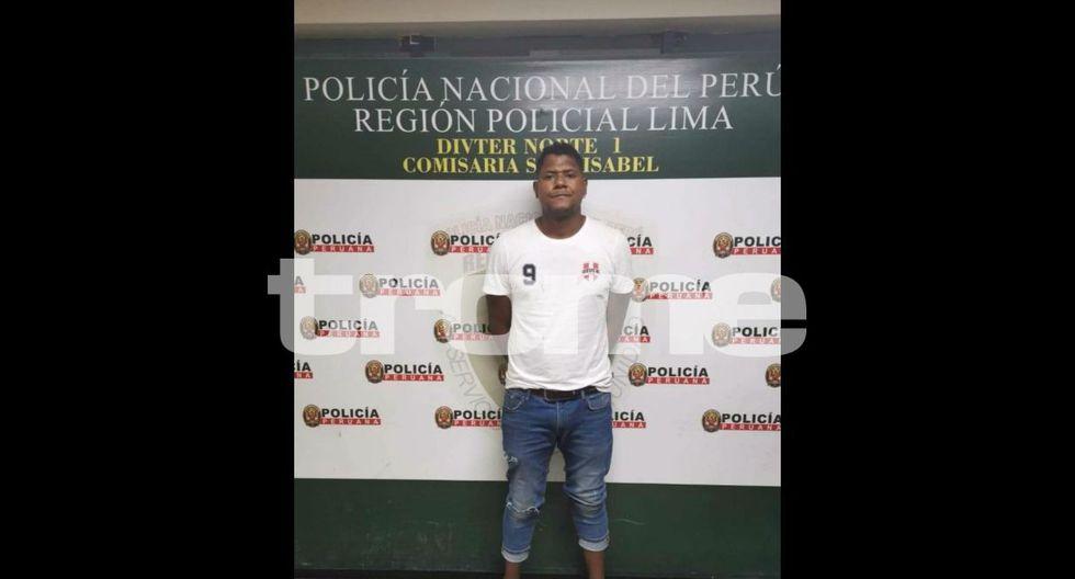 Chiquito Flores detenido tras agredir a su pareja. Foto: Difusión