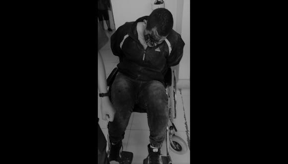 Venezolano asaltó a mano armada a comerciante y le robó dos celulares y dinero. Dispara a vecinos para que no lo atrapen y se termina hiriendo en la pierna derecha.