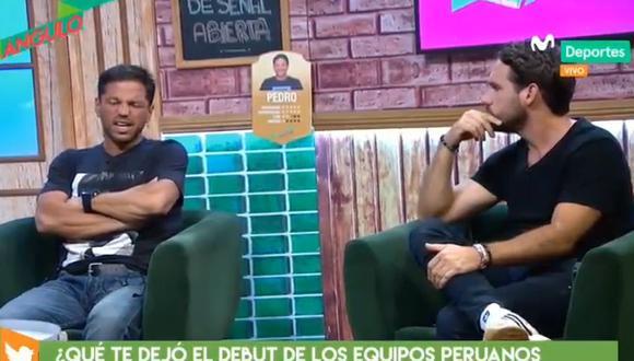 Michael Succar y Pedro García, panelistas de 'Al Ángulo'