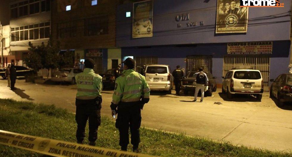 Tragedia en discoteca de Los Olivos: Policía descartó haber lanzado gas lacrimógeno dentro del local
