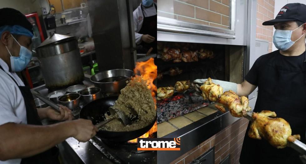 El pollo a la brasa y el chifa son los más pedidos por delivery en cuanto a gastronomía peruana. Aún así, la demanda es menor que antes de la pandemia. (Trome / Isabel Medina)