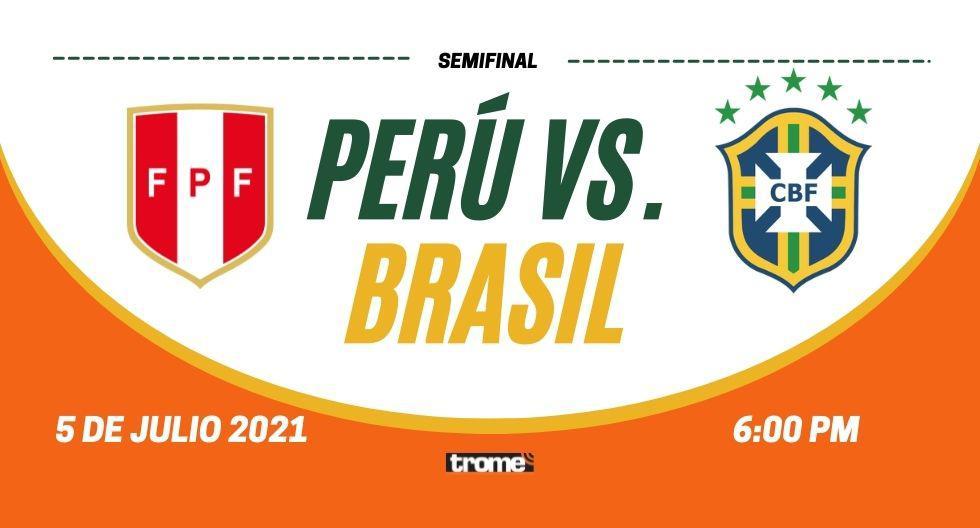 Mira América TVGO Perú vs Brasil: en directo, transmisión de semifinales de Copa América 2021
