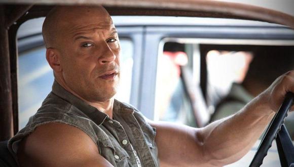 """El actor Vin Diesel en una de las películas de """"Rápidos y furiosos"""". (Foto: Universal Pictures)"""