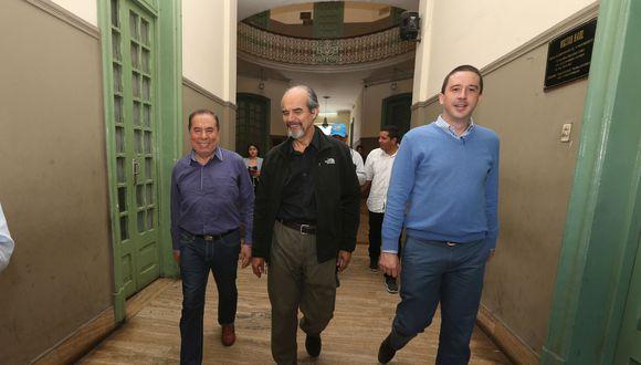 La semana pasada el JEE de Lima Centro había observado sus candidaturas, debido a que los referidos candidatos fueron designados directamente por la Comisión Política del Apra, pese a que esta no se encuentra inscrita en el JNE. (Foto: GEC)