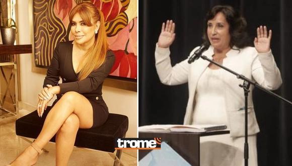 Magaly Medina arremete contra Dina Boluarte