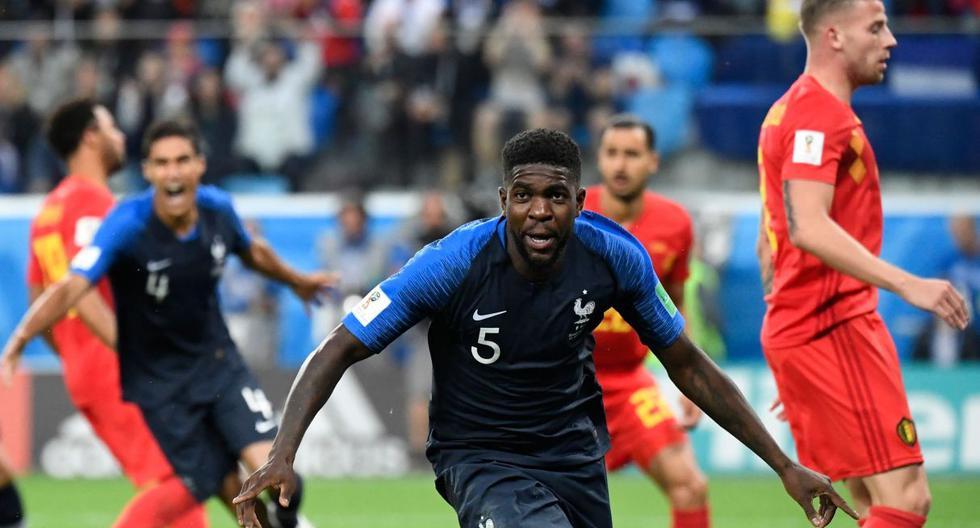 Francia a la final del Mundial: Umtiti y su controversial declaración sobre la generación francesa de 1998