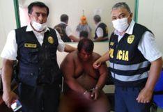 Estado de emergencia: Atrapan desnudo a pesado y peligroso vendedor de drogas  en Talara