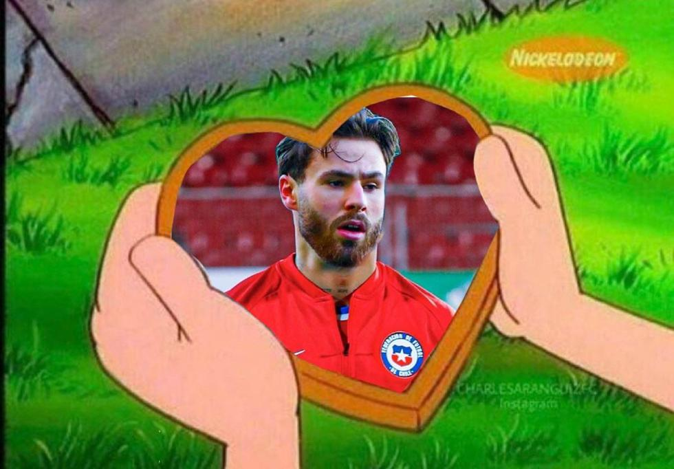 Memes de Ben Brereton en la Copa América 2021