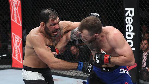 Ryan Bader otra vez venció a 'Minotoro' Nogueira. En esta oportunidad en el UFC Sao Paulo. (Getty)