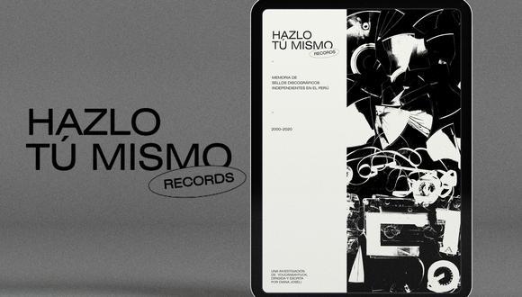 Libro electrónico es la primera investigación sobre sellos discográficos independientes en el Perú. (Difusión)