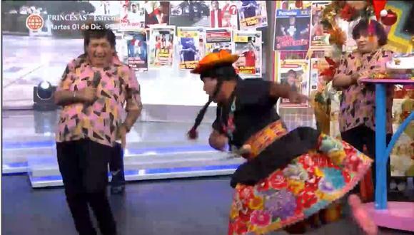 Toño Centella se presentó en el  Reventonazo de la Chola. (Captura América)
