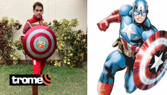 Ingeniero se caracteriza como 'Capitán Perú' para contar historia peruana a niños y jóvenes