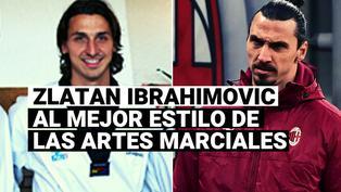 El brutal calentamiento de Zlatan Ibrahimovic al mejor estilo de las artes marciales