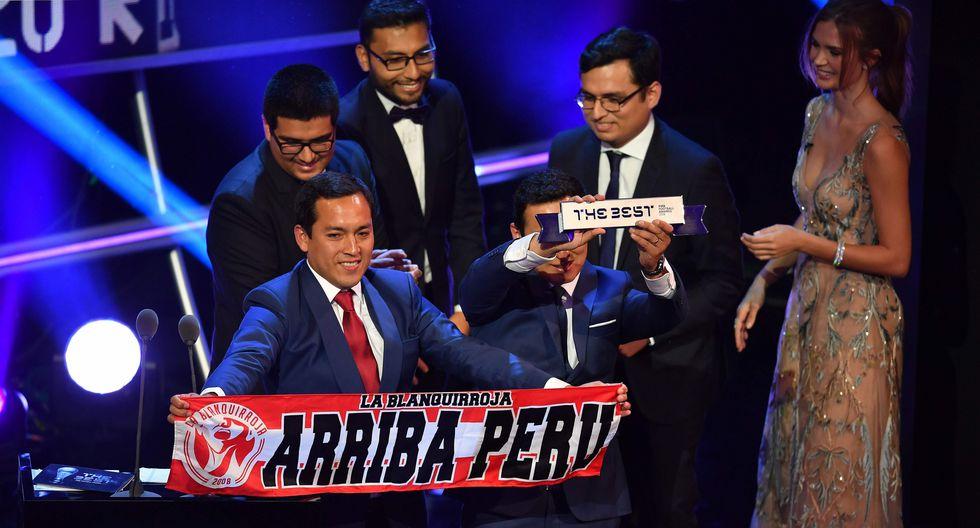 Hinchada peruana se consagró a la Mejor Afición del 2018 para la FIFA.