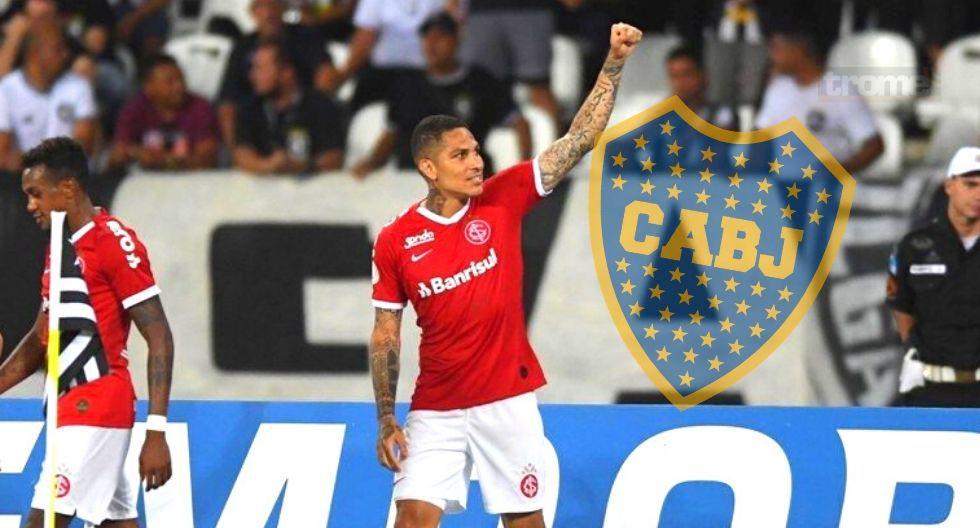 Paolo Guerrero habla sobre Boca Juniors