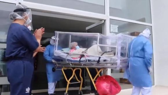 Una anciana colombiana de 104 años ha superado en dos ocasiones la COVID-19. (Foto: Cadena SER)