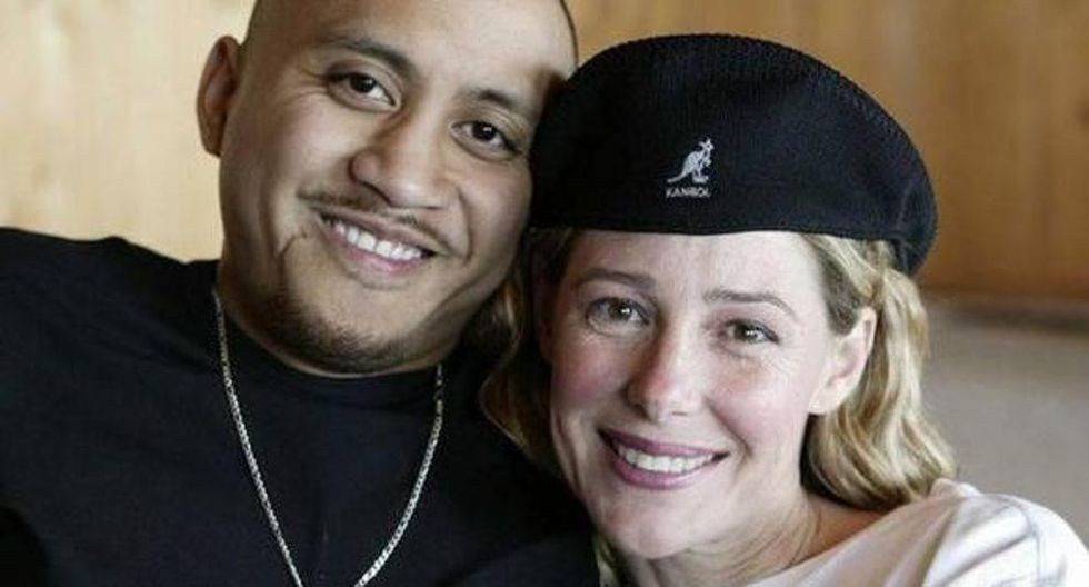 Mary Kay Letourneau y Vili Fualaau se casaron en una ceremonia secreta en mayo del 2005 y se separaron en el 2017. (Foto: AP / Cortesía de Entertainment Tonight y The Insider / Mark Greenberg)