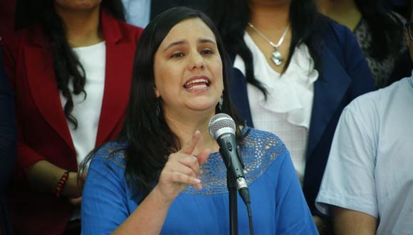Verónika Mendoza postula por segunda vez a la presidencia del Perú. La primera ocasión fue en el 2016. (Foto: Luis Centurión / GEC)