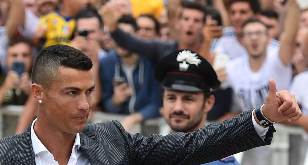 Cristiano Ronaldo fue presentado en Juventus