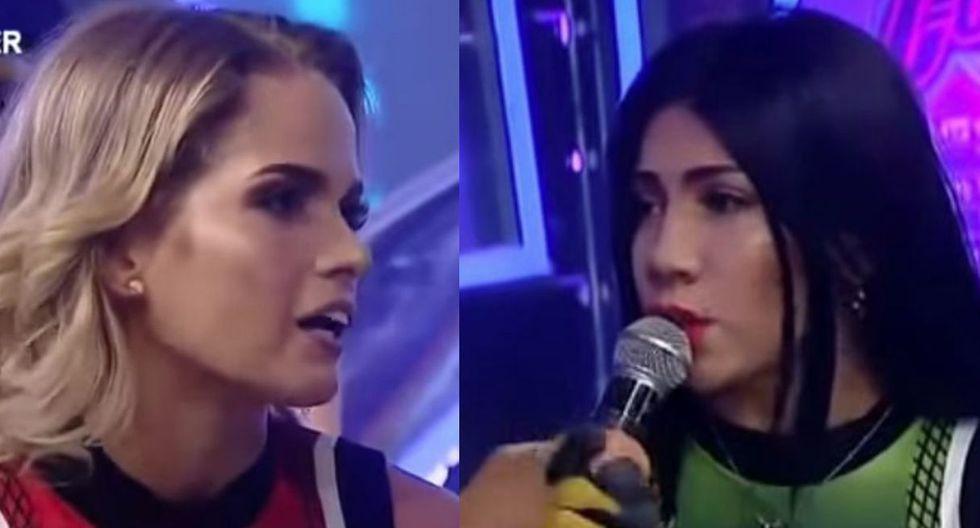 Michela Elías y Diana Sánchez
