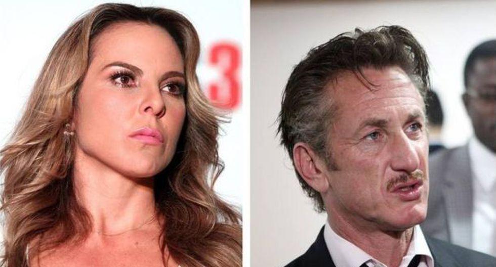 """""""Sean Penn se deshizo de Kate del Castillo una vez que la utilizó"""", dijo amiga de la actriz (Foto: EFE)"""