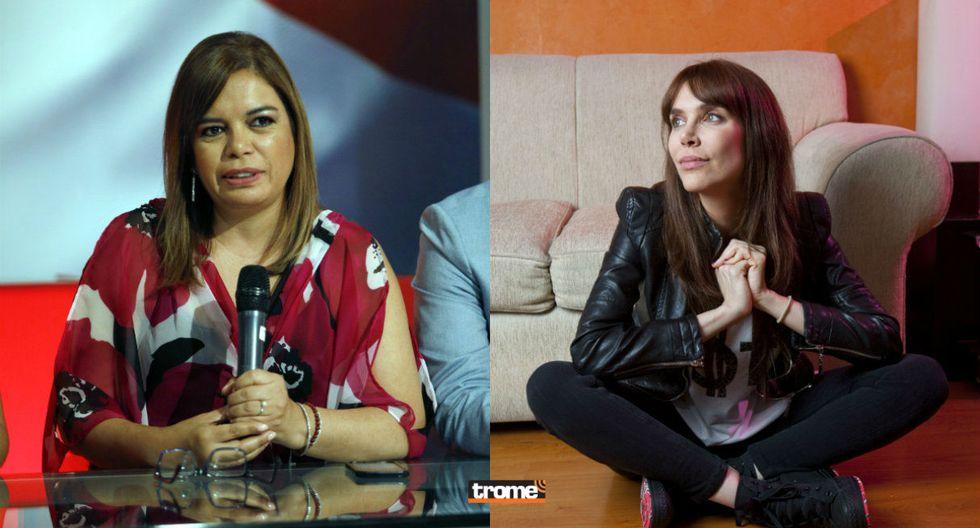 Juliana Oxenford le recuerda a Milagros Leiva escándalo con Belaúnde Lossio (TROME)