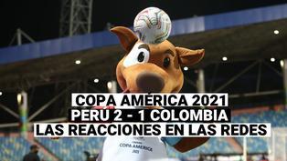 Copa América 2021: Las redes sociales celebran la victoria de Perú 2 a 1 ante Colombia