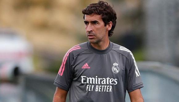 Raúl González Blanco se refirió a la posibilidad de hacerse cargo del primer equipo de Real Madrid. (Foto: Real Madrid)