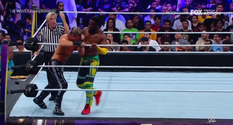 Kofi Kingston continúa reinando en WWE SmackDown Live. (Captura Fox Action)