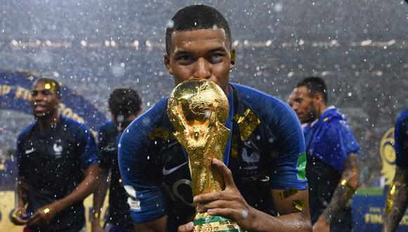 Mbappé tiene 22 años y ya ganó la Copa del Mundo en Rusia 2018 siendo una de las figuras de Francia. (Foto: AFP)