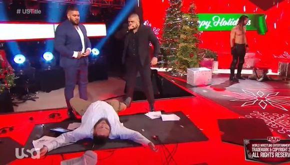 Seth Rollins y el AOP forman un equipo de temer. (Captura FOX Sports 2)