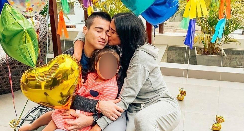 Melissa Paredes y Rodrigo Cuba se reencuentran tras cinco meses de separación por la pandemia