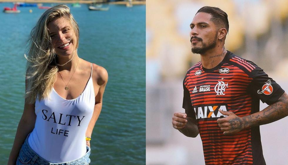 Thaísa Leal y Paolo Guerrero