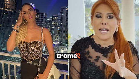 Macarena Gastaldo se presentó en el programa de Magaly Medina para contar pelea con madre de Paula Manzanal. Foto: Instagram